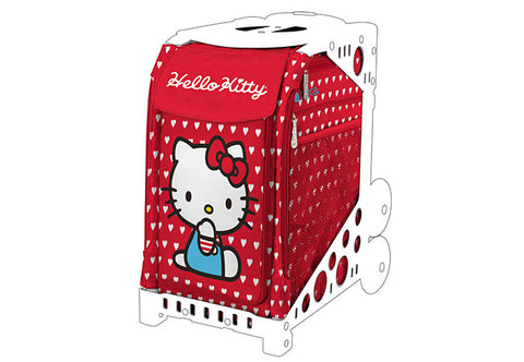ZÜCA  – Hello Kitty, Labor of Love (Insert & mini pouch)|ZÜCA - Hello Kitty, Labor of Love (Sac d'insertion et petit sac)