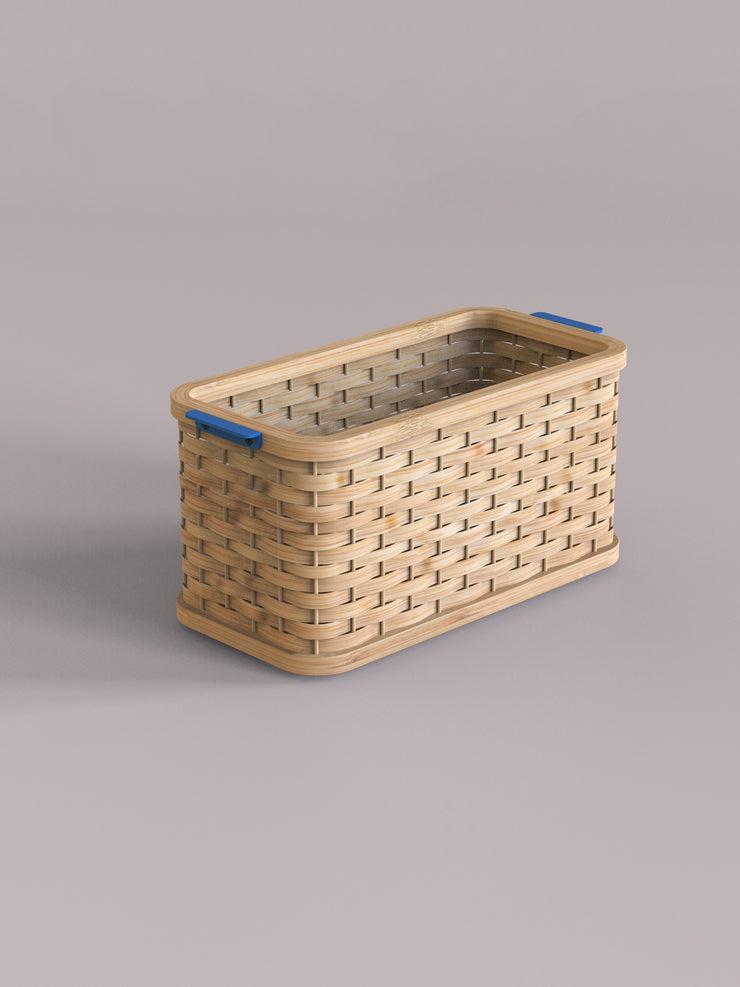 Stadium Stackable Basket in Natural