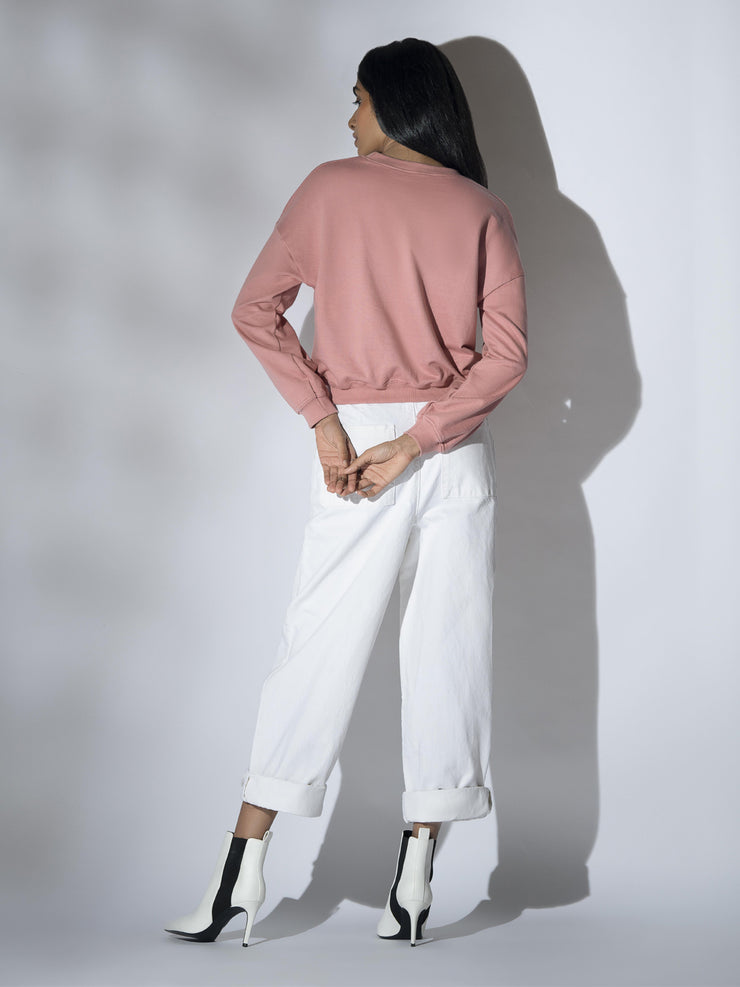 Tatiana Sweatshirt in Pink