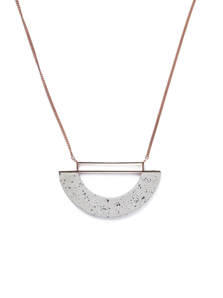 Half-moon Necklace in Colour Options