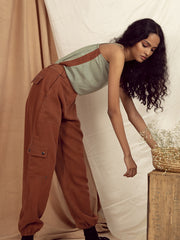 Alchemy Worker Pants in Copper Brown