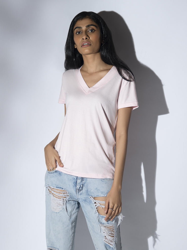 Kunali T-shirt in Pink