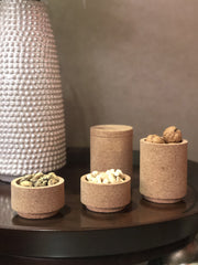 Cork Containers (Set of 4)