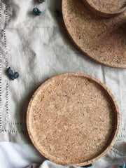 Couple Cork Tray
