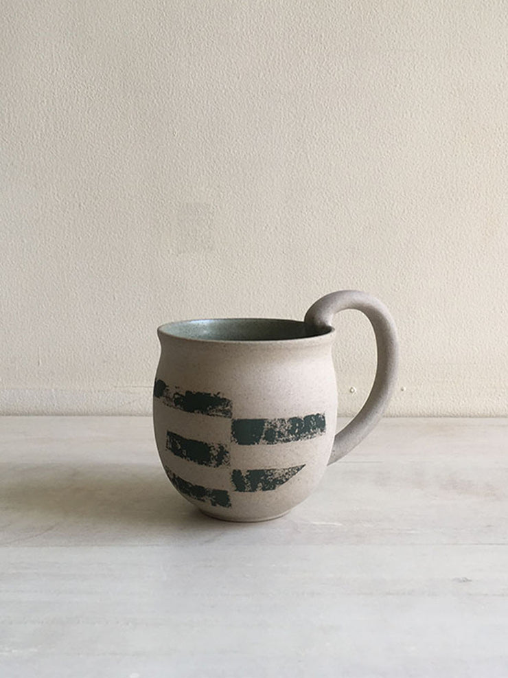 The Collective Big Handle Mug in Grey
