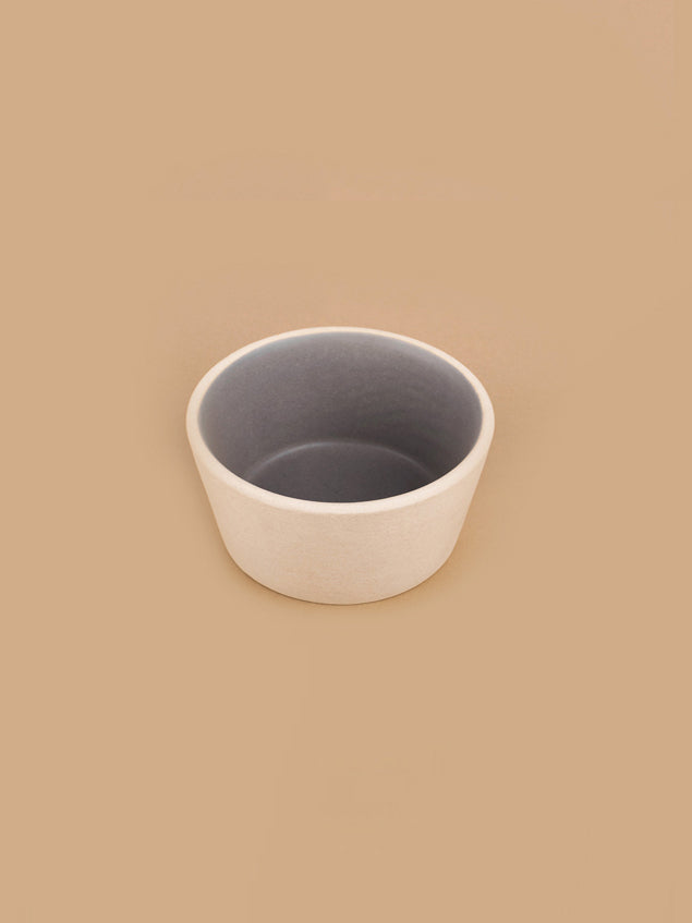 Small Basik Bowls Pair in Grey