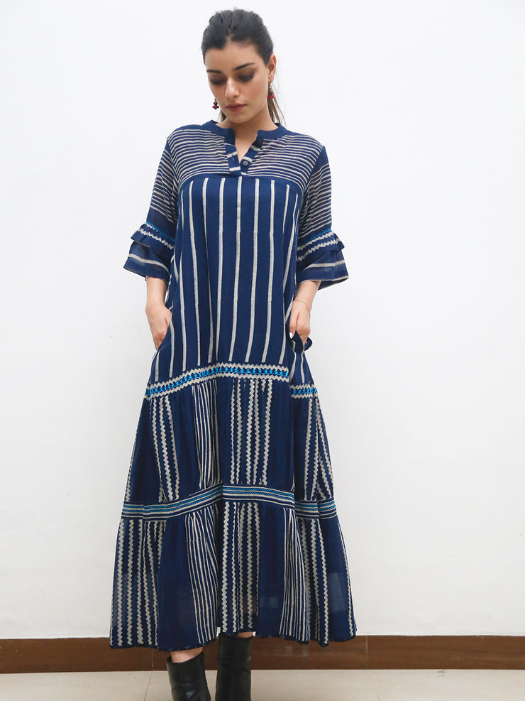 Jumang Indigo Dress