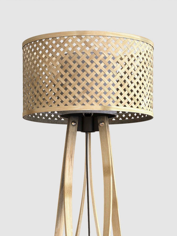 Mushroom Floor Lamp in Natural