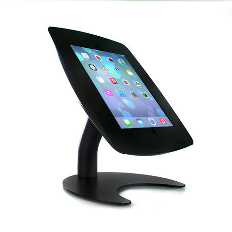 iPad Pedestal Stand with rotate and tilt mechanism for counter or wall mount