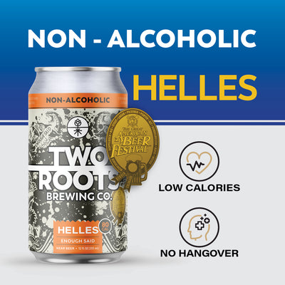 Enough Said - Non-Alcoholic Helles - 6 Pack