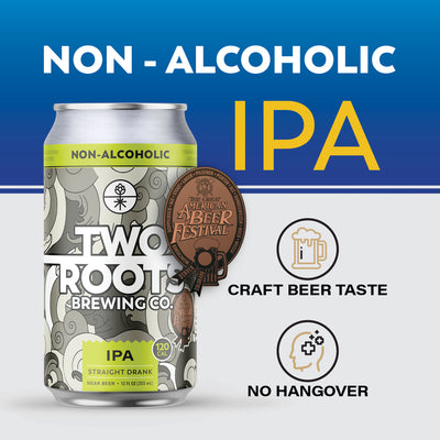 Straight Drank - Non-Alcoholic IPA - 6 Pack