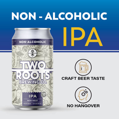New West - Non-Alcoholic Hazy IPA - 6 Pack