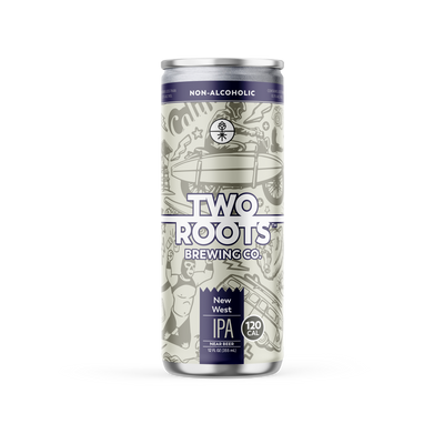 (3) Two Roots Non-Alcoholic IPA New West 6-Pack + (1) FREE!