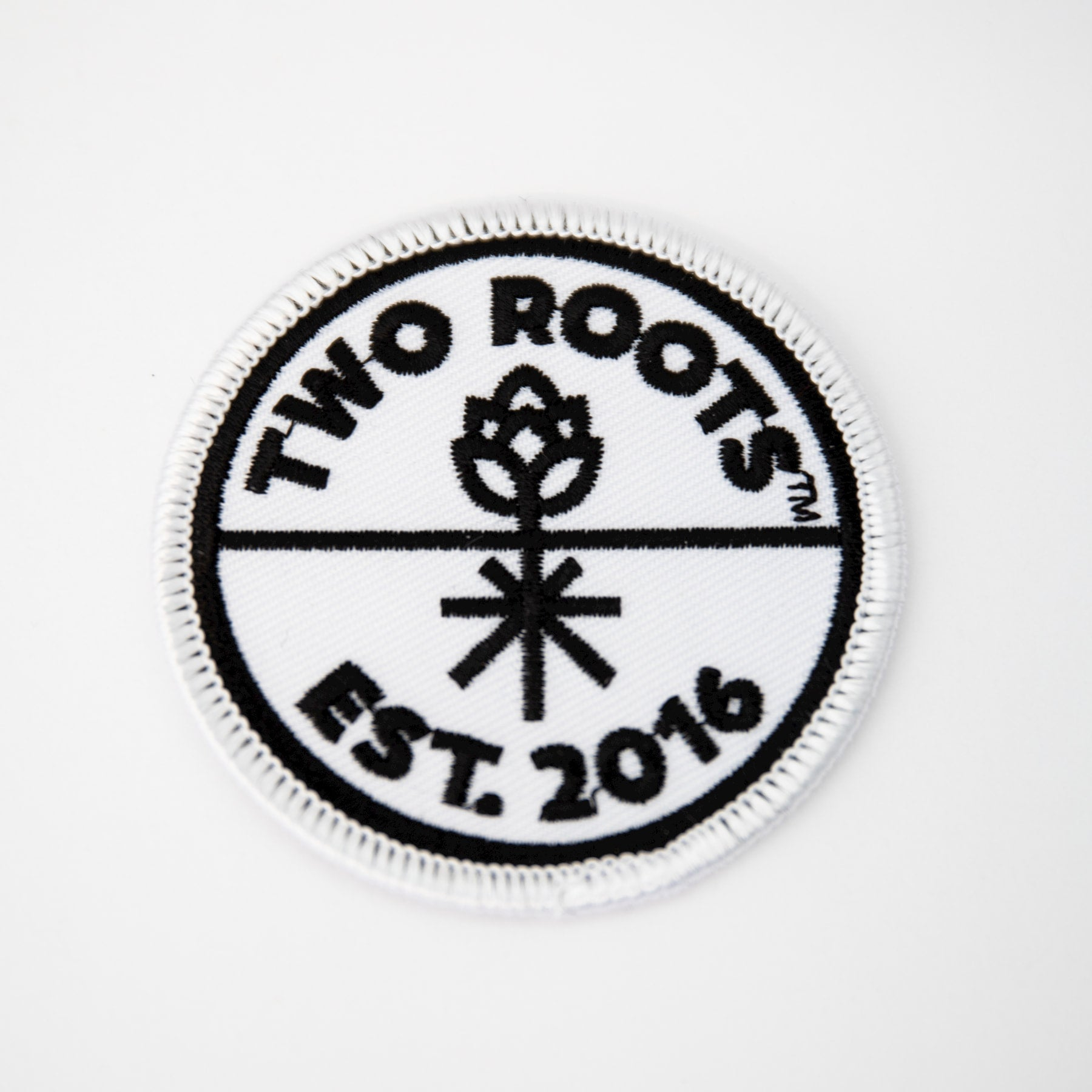 Two Roots Sew-On Patch