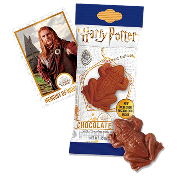 Rana de chocolate de Harry Potter