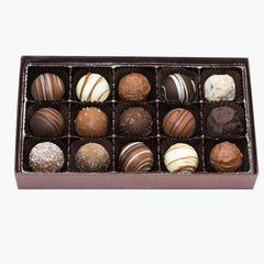 Wilson Candy Assorted Truffles - 15 Piece Box