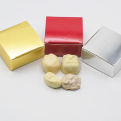 Assorted Boxed Chocolates - Ivory Chocolate Only - 4 Piece