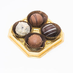 Wilson Candy Assorted Truffles - 4 Piece Box