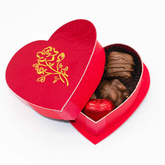Valentine's 2oz. Milk Chocolate Variety Heart Box - Wilson Candy