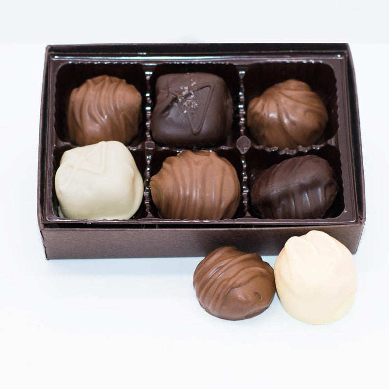 Assorted Boxed Chocolates - Variety Chocolate - 6 Piece