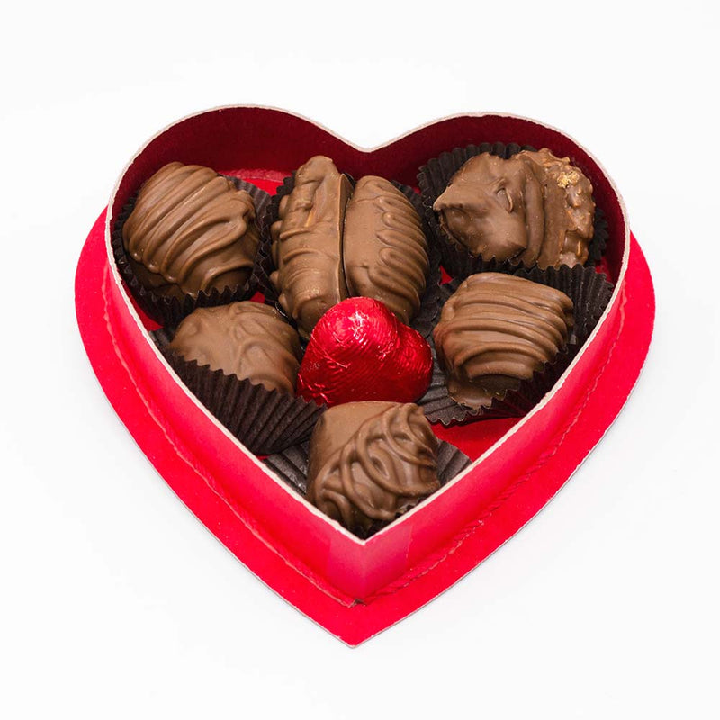 Valentine's 4oz. Milk Chocolate Variety Heart Box