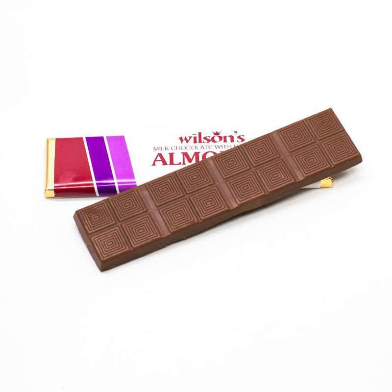 wilson candy Milk Chocolate Almond Flat Candy Bar