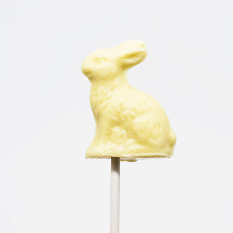 Wilson Candy Ivory Chocolate Bunny Pop