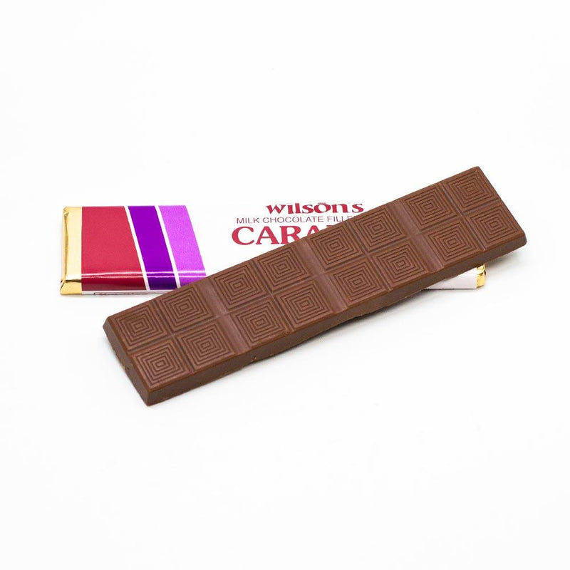 wilson candy Milk Chocolate Caramel Flat Candy Bar
