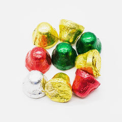 Milk Chocolate Christmas Foiled Bells