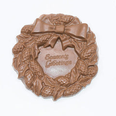 Wilson Candy Milk Chocolate Seasons Greetings Wreath