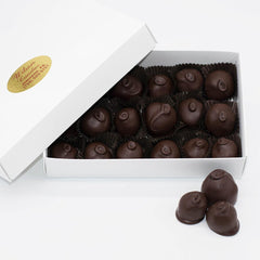 Wilson Candy Dark Chocolate Covered Raspberries - 10 oz. Box