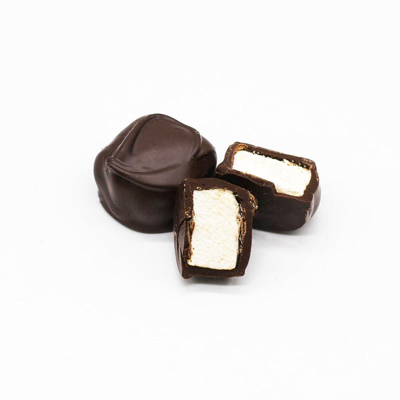 Small Dark Chocolate Covered Marshmallows