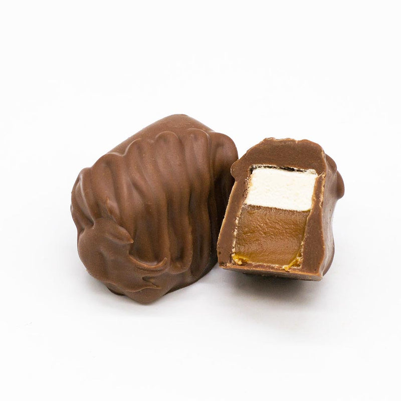 Wilson Candy Milk Chocolate Covered Caramel Marshmallows