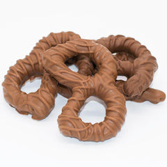 Wilson Candy Milk Chocolate Covered Broken Pretzel Pieces