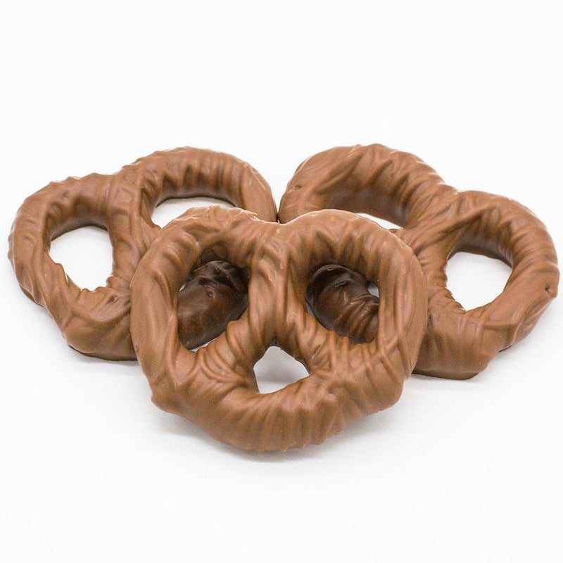 Wilson Candy Milk Chocolate Covered Pretzel Twist - 1lb Box
