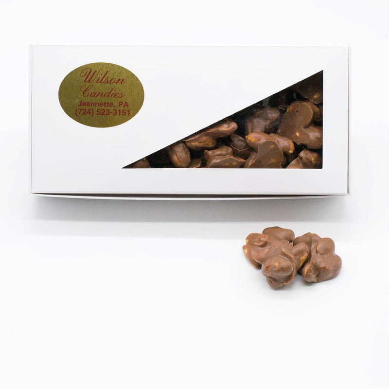 Wilson Candy Milk Chocolate Peanut Clusters