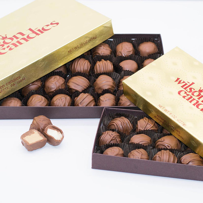 Milk Chocolate Covered Soft Centers - Variety Box
