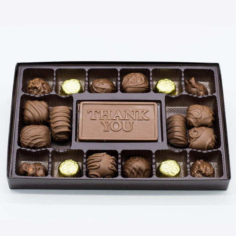 "Milk Chocolate ""Thank You"" Variety Box"
