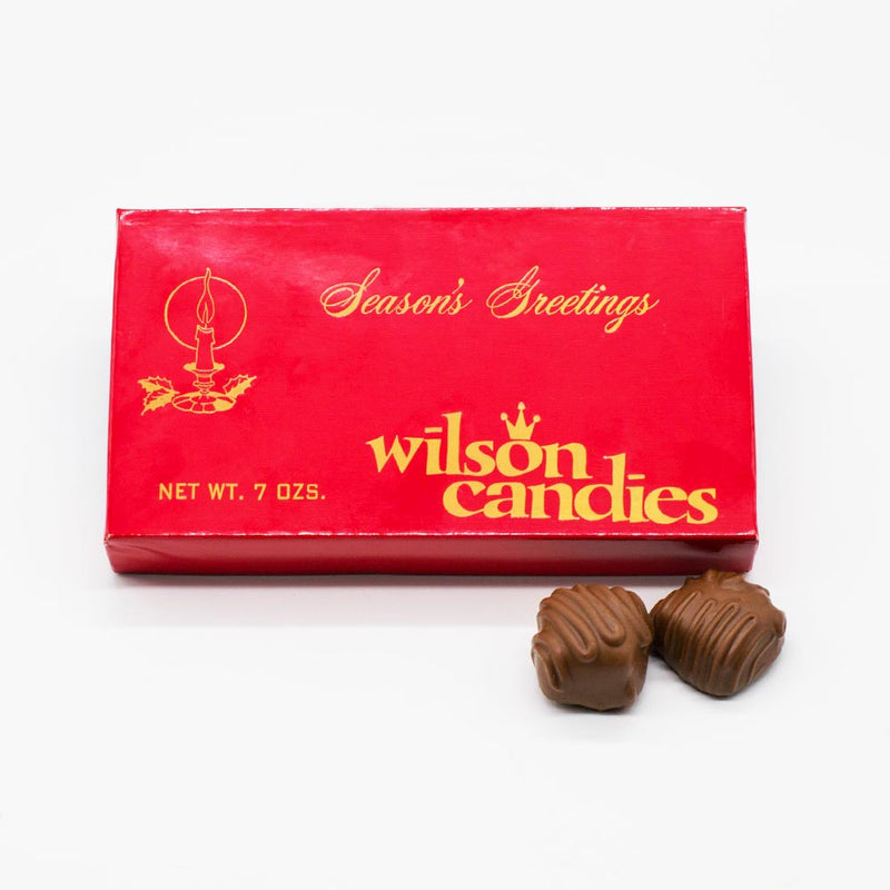 WIlson Candy Milk Chocolate Seasons Greetings Treat Box