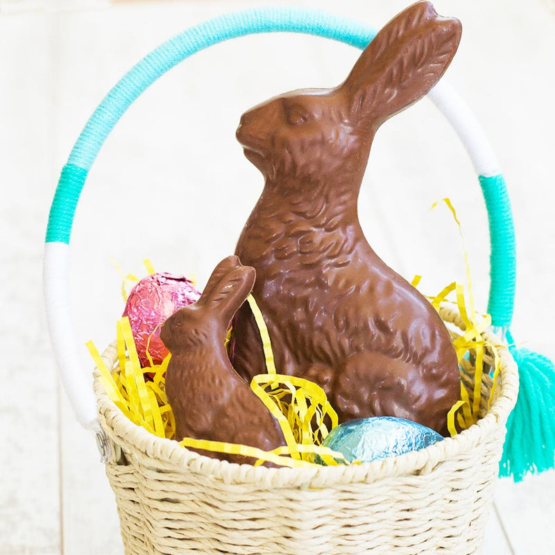 Milk Chocolate Sitting Bunny - Multiple Sizes