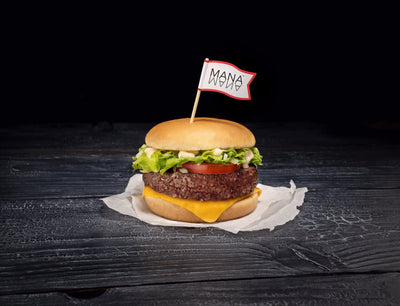 Introducing The World's 1st Nutritionally Complete Plant-Based Burger: The ManaBurger™