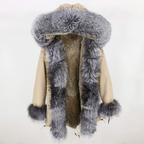 Carmen Charlott Fox Fur Parka - AW18 Collection