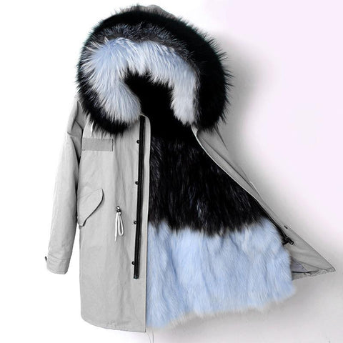 Carmen Charlott Fox Fur Parka Collection - AW18