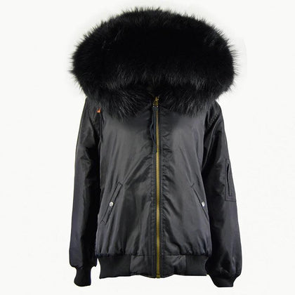 Carmen Charlott Men Fox Fur Bomber Jacket - AW19