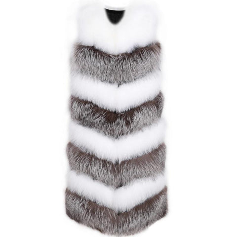 Carmen Charlott Luxury Fox Fur Vest - AW19