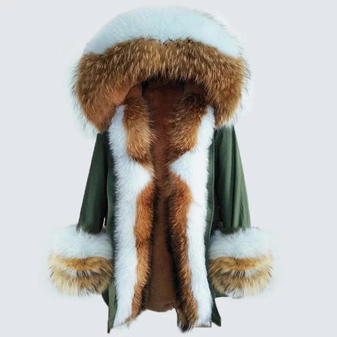 Carmen Charlott Luxury Fox Fur Parka - AW19