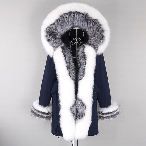Carmen Charlott EDITION Luxury Fox Fur Parka AW20