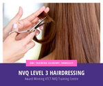 VTCT Level 3 NVQ Diploma In Hairdressing Course