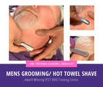 Men's Grooming / Hot Towel Shave Course