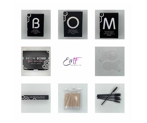 Brow Bomb Brow Lamination Trial Kit